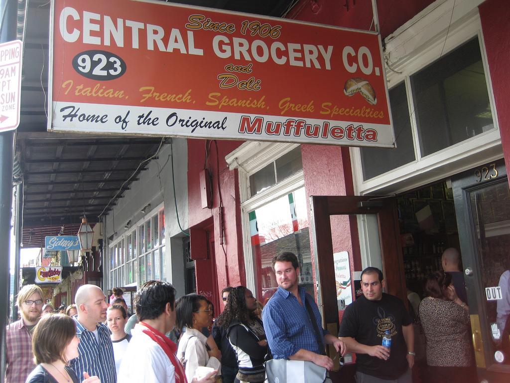 Central Grocery - Muffuletta