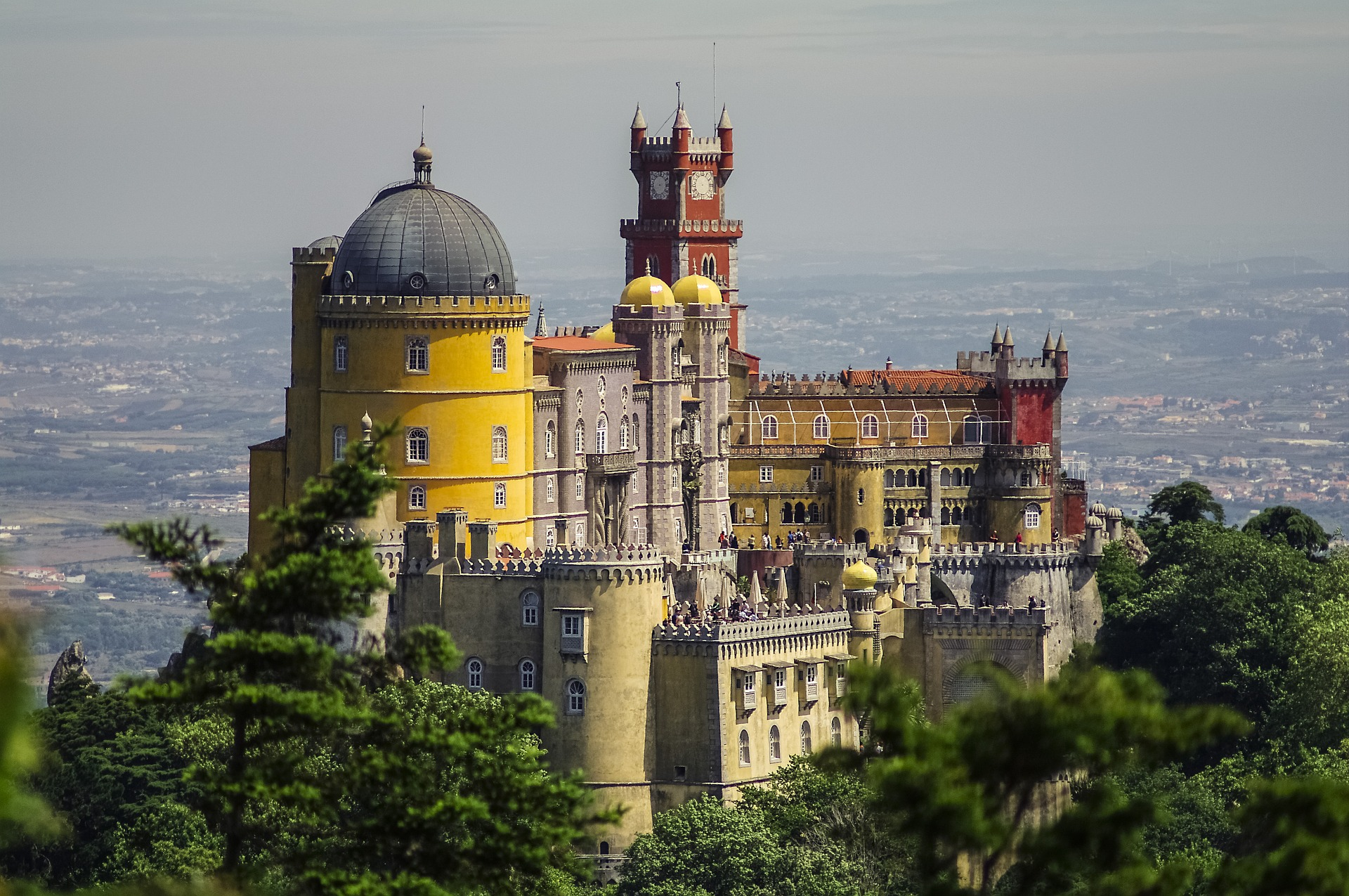 Pena National Palace - Portugal Road Trip