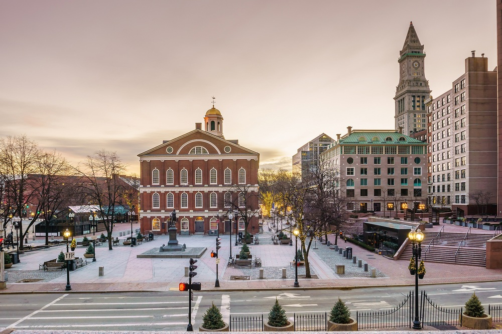 Faneuil Hall - The Freedom Trail