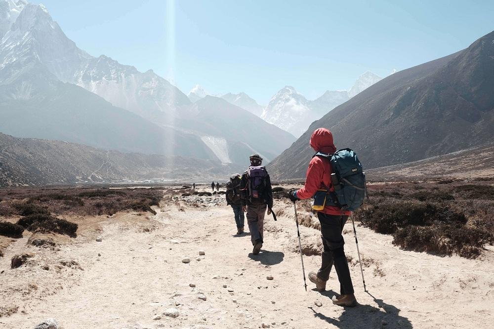 trek in Tibet
